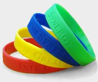INTE GREAT TEAM SYNERGY Wristbands in Four Colors